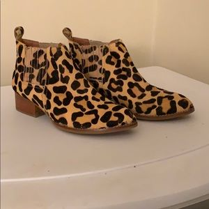 Cheetah Jeffrey Campbell boots- lightly worn